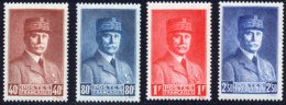 France 1940 Yvert 470 / 473 ** TB - Unused Stamps