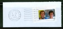 Deux Belles Dames. -- Timbre-photo Usagé / Used Picture Stamp -- Timbre Personnalisé / Personalized Stamp (2061) - Non Classificati