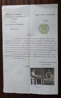 France Permis Boutique Montres 1925 SHS Yugoslavia Brcko Shop Watches - Advertisement Watches