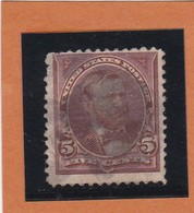 Etats-Unis  N°101 + Fleurons   - 1894 -  U. GRANT - Oblitérés - Usados