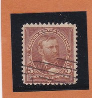 Etats-Unis  N°101 + Fleurons   - 1894 -  U. GRANT - Oblitérés - 1847-99 Emisiones Generales