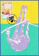Postcard / Maximum Card - 13 Th Asian Games, Thailand 1998 - Jumping