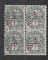Maroc N°37** En Bloc De 4 - Maroc (1891-1956)