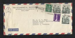 Korea 1974 Air Mail Postal Used Cover Korea To Pakistan - Korea (...-1945)