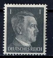 Allemagne III Reich - Germany - Deutschland 1941-43 Y&T N°705 - Michel N°781 * - 1p Hitler - Allemagne
