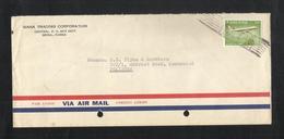 Korea 1974 Air Mail Postal Used Cover Korea To Pakistan Airplane - Korea (...-1945)