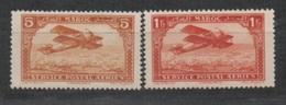 Maroc, Poste Aérienne N°1** Et 7** - Marokko (1891-1956)