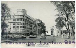 - 92 - COCHINCHINE - Saigon - Boulevard Dai Lo Le Loi, Glacée, 4 CV Renault, Pub Mélia, écrite, TBE, Scans. - Viêt-Nam