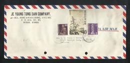 Korea 1973 Air Mail Postal Used Cover Korea To Pakistan - Korea (...-1945)