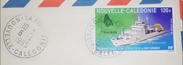 NOUVELLE CALÉDONIE 1995 De La Foa Pour La France Par Avion .le 06.04.1996.. - Covers & Documents