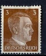 Allemagne III Reich - Germany - Deutschland 1941-43 Y&T N°706 - Michel N°782 * - 3p Hitler - Allemagne