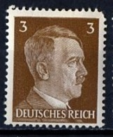 Allemagne III Reich - Germany - Deutschland 1941-43 Y&T N°706 - Michel N°782 *** - 3p Hitler - Allemagne