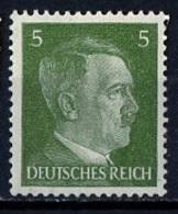 Allemagne III Reich - Germany - Deutschland 1941-43 Y&T N°708 - Michel N°784 *** - 5p Hitler - Allemagne