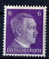 Allemagne III Reich - Germany - Deutschland 1941-43 Y&T N°709 - Michel N°785 *** - 6p Hitler - Allemagne