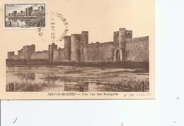 France - Remparts De Aigues -Mortes ( CM De 1941 à Voir) - Cartes-Maximum