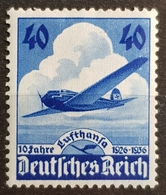 1936 , Deutsches Reich , 10 Jahre Lufthansa , Germany, *,**, Or Used - Germany