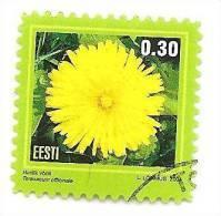 Estonia 2004 Flower  Stamp Dandelion. Mi#495    Used  (0) - Estonia