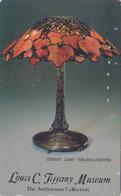 Télécarte Japon / 110-011 -  MUSEE - ART - LAMPE Art Nouveau - LAMP LOUIS TIFFANY MUSEUM  - Japan Phonecard -  74 - Culture