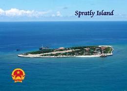 Vietnam Spratly Island Aerial View  New Postcard - Vietnam