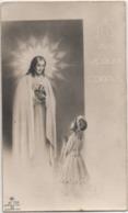 Santino Per La Prima Comunione Di Maria Luisa Dall?igna, Isola Vicentina (Vicenza) 1950 Anno Santo - Santini