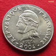 New Caledonia 50 Francs 2004 KM# 13  Nouvelle Caledonie - Nuova Caledonia
