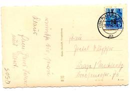 CP De Plauen (29.12.1954)  DDR RDA 10 Pf Sur 12 Pf - Lettres & Documents