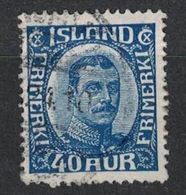 Island Mi Nr 103 - 40 Aur - 1918-1944 Administration Autonome