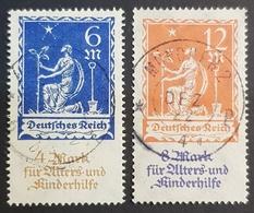 1922 Deutsches Reich , Germany, Charity Stamps, *,**, Or Used - Deutschland