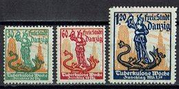 Danzig 1921 // Mi. 90/92 * - Danzig