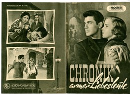 MARCELLO MASTROIANNI 4 East German Film Programs 1956-57 - Films & TV