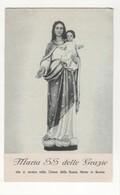 Santino Antico Madonna Delle Grazie Da Bovino - Foggia - Religion & Esotericism