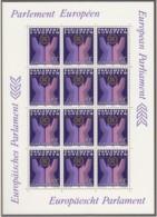 LUXEMBURG  1097 Kleinbogen, Postfrisch **, Europa CEPT Mitläufer: Direktwahlen Zum EU-Parlament 1984 - Europa-CEPT
