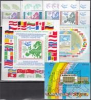 Europa CEPT KSZE-Ausgaben 1983 Komplett: Bulgarien, Rumänien, Ungarn - 1983