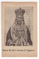 203 Santino Antico Madonna Del Monte Di Viggiano - Potenza - Religione & Esoterismo