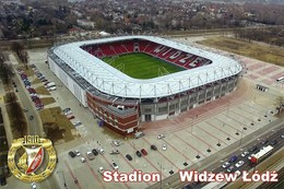 STADIUM POSTCARD ESTADIO STADE STADIO STADION LODZ - Stadiums