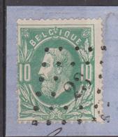 N° 30 - Leopold II - Lp. 23 Avelghem Fragment. 4-27/ 17 - 1869-1883 Léopold II