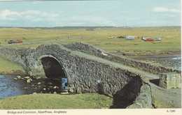 Postcard Bridge And Common Aberffraw Anglesey My Ref  B13131 - Anglesey