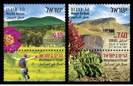 Israel 2019 - Mountains In Israel - Mount Meron Stamp Set Mnh - Israel