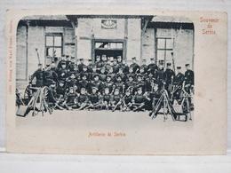Souvenir De Serbie. Artillerie - Serbie