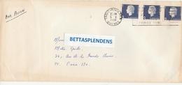 LSC 1966- Cachet TROIS RIVIERES - QUEBEC Sur Timbres - 1952-.... Regno Di Elizabeth II