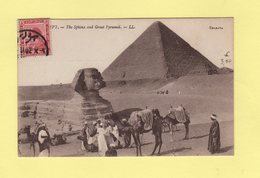 Egypte - Le Sphinx - Carte Concordante - Egypt