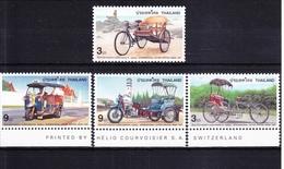 Thailand 1809-1812 ** Postfrisch Taxi-Dreiräder #RD677 - Thailand