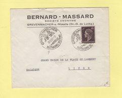 Luxembourg - Gravenmacher - Ses Vins Ses Raisins - 23-12-1957 - Luxemburg