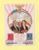 Luxembourg - 10-9-1945 - En Memoire Du President Roosevelt - Luxemburg