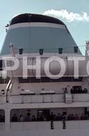 1967 PAQUETE LINER SHIP LISBOA PORTUGAL ORIGINAL AMATEUR 35mm DIAPOSITIVE SLIDE Not PHOTO No FOTO B3759 - Diapositives