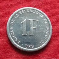 Burundi 1 Franc 2003 UNCºº - Burundi