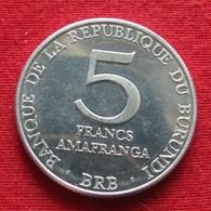 Burundi 5 Francs 1980 UNCºº - Burundi