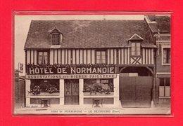 27-CPA LE NEUBOURG - HOTEL DE NORMANDIE - Le Neubourg