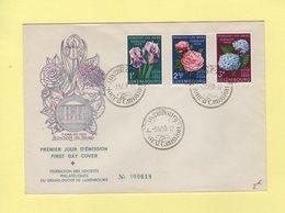 Luxembourg - Floralies 1959 - 1er Jour D Emission - 3-4-1959 - Luxemburg