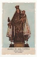 Santino Antico Madonna Della Catena Da Aci Catena - Catania - Religion & Esotericism